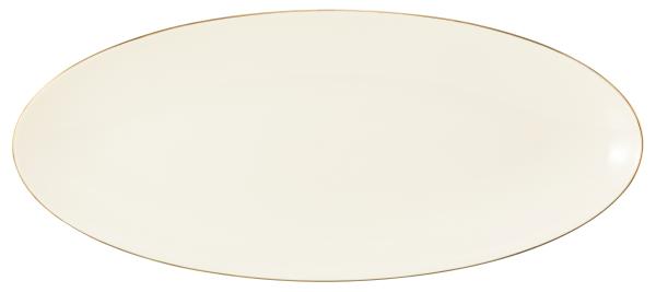 Seltmann Porzellan Medina Gold Servierplatte 43x19 cm