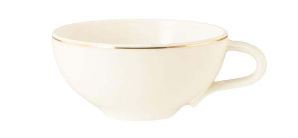 Seltmann Porzellan Medina Gold Teeobertasse groß 0,26 l