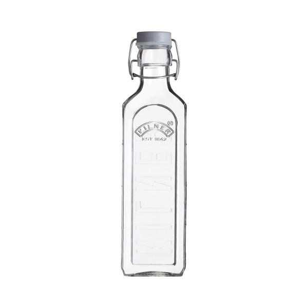 Kilner Glasflasche mit Bügelverschluß eckig 600 ml