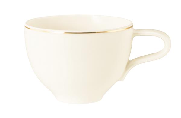 Seltmann Porzellan Medina Gold Milchkaffeeobertasse 0,35 l