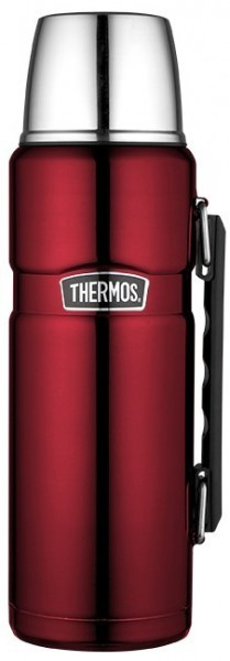 Thermos Isolierflasche Stainless King, Cranberry 1,20l