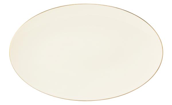 Seltmann Porzellan Medina Gold Servierplatte oval 40x25,5 cm