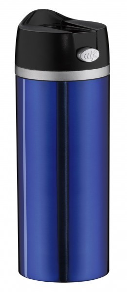 alfi Isoliertrinkbecher IsoMug Perfect Blau 0,35l