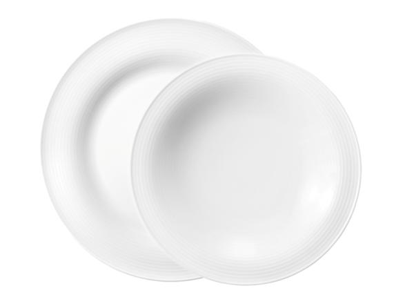 Seltmann Porzellan Beat Weiß Tafelservice 8-teilig