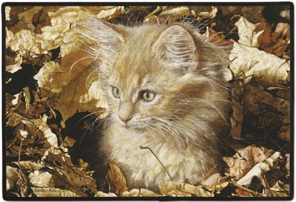 Designer-Fussmatte Kätzchen