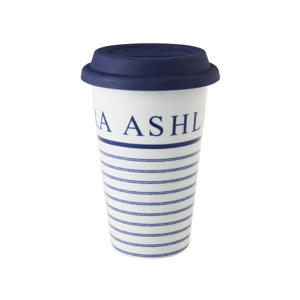 Laura Ashley Blueprint Porzellan Coffee 2 go Candy Stripe