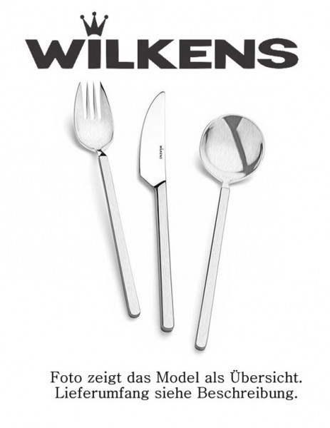 Wilkens Besteck Angolo Suppen-/ Sahnelöffel mattiert
