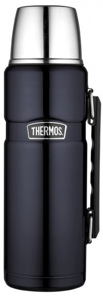Thermos Isolierflasche Stainless King blue 1,20l