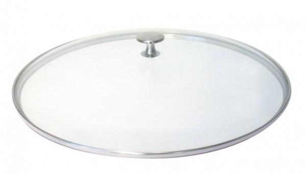 Staub Zubehör Glasdeckel flach Nickelknauf 16 cm