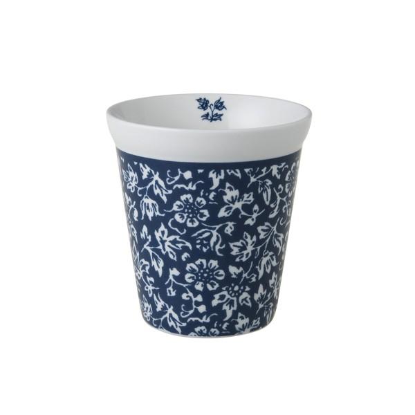 Laura Ashley Blueprint Porzellan Becher ohne Henkel Sweet Allysum 27 cl