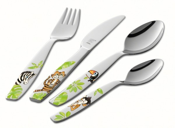 Zwilling Kinderbesteck Jungle 4 tlg