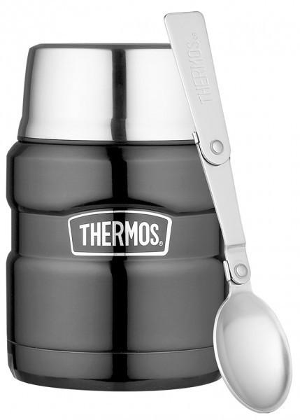 Thermos Speisegefäß Stainless King grey 0,47l