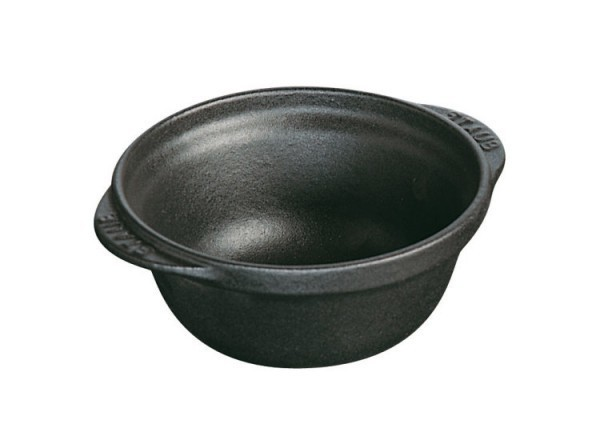 Staub Mini Formen Schale 11,5cm schwarz