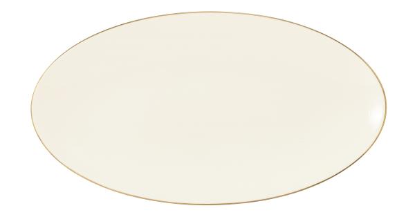 Seltmann Porzellan Medina Gold Servierplatte oval 33x18 cm