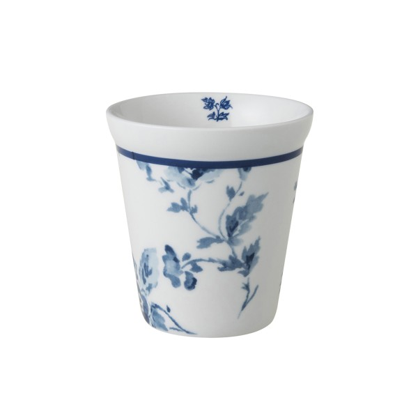 Laura Ashley Blueprint Porzellan Becher ohne Henkel China Rose 27 cl