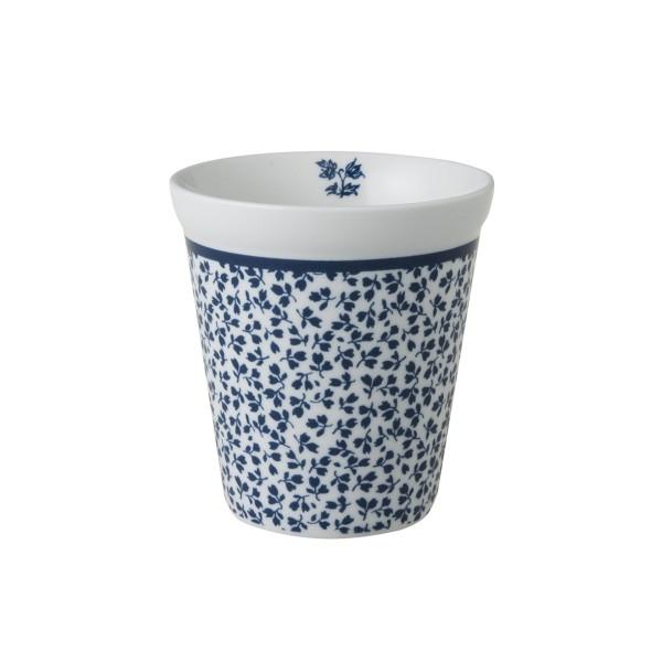 Laura Ashley Blueprint Porzellan Becher ohne Henkel Floris 27 cl